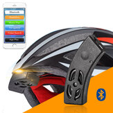 ROCKBROS Smart Bluetooth Helm Audio Riding Fietsbel Speaker Handsfree Telefoonoproep Voice Navigation Waterproof IP54