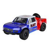 VRX RH1009 1/10 2.4G RC Car 50-65km / h Força de alta velocidade.18 Motor a gás RTR Truck Double Speed