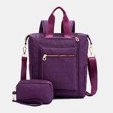 Wodoodporna torebka na ramię o dużej pojemności Plecak na ramię z kopertówką dla kobiet