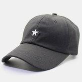Cappello da baseball regolabile regolabile da uomo in tinta unita con visiera a tinta unita per uomo
