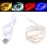 0.5M SMD2835 Не-водоустойчивый USB LED Стриптиз партии свет TV ПК Фоновая подсветка DC5V