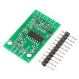 HX711 Pesagem de conversão A / D de canal duplo de 24 bits Sensor Módulo controlador