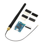 3Pcs WeMos® D1 Mini Módulo Pro-16 + Série ESP8266 Wireless WiFi Antena