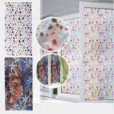 3D PVC Waterdicht Glas Sticker UV Blokkeren Glasfolie Decor Privacy Statische Cling voor Bad Decor