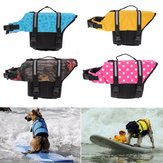 L Pet Aquatic Reflective Preserver Float Vest Dog Cat Saver Life Jacket New