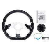 320mm Universal Leather Racing Steering Wheel Sports Drifting Steering Wheel