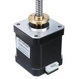 HANPOSE17HS8401-ST8x8Nema17Leitspindel-Schrittmotor-Linearaktuatoren 48mm 1.8A 52N.cm 4-Leiter 42 Motor 100-500mm Trapez-Leitspindel für 3D-Drucker Z-Achse