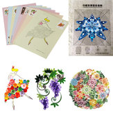 18PCS DIY Release Drawing Localling Paper Quilling herramienta Craft Paper Art Collection Set