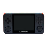 ANBERNIC RG350P 16GB 2500 Jeux Console de jeux vidéo 3,5 pouces IPS HD Écran trempé oléophobe 64 bits DDR2 512M Retro Handheld Video Game Player for PS1 GBA SFC MD