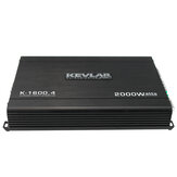 4 Channel 2000 Watt 12V Car Subwoofer Audio Power Amplifier GTD-Audio
