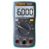 ANENG AN8002 Digital Verdeiro RMS 6000 Contagem Multímetro AC/DC Testador Temperatura Resistência Frequência Tensão Corrente ℃/℉