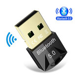 ROCKETEK USB bluetooth 5.0 Dongle Adapter Wireless Mouse bluetooth Music Audio Receiver Transmitter for PC Computer Speaker