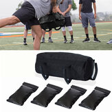 Exercise Sandbags Heavy Duty Sand-Bag Strength Training Fitness Sand Bags Max Load 15kg