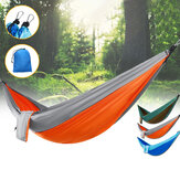 IPRee® Double Person Hammock Nylon Swing Hanging Bed Outdoor Camping Travel Max Load 300kg