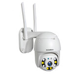 INQMEGA 1080P 360 ° PTZ waterdichte IP-camera H.264 HD Nachtversie Home WIFI-camera Babyfoons Home WIFI-camera Babyfoons