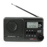 Retekess F9216A TR601 Digital Display Radio with FM AM for Family Camping Outdoor