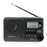 Retekess F9216A TR601 Rádio Display Digital com FM AM para Família Acampamento Ao Ar Livre