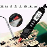 FS1A Digital Multimeter Pen Type Professional DC Voltage Meter Handheld Resistance Diode Tester