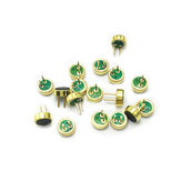 10Pcs Lot Omnidirectional Electret Microphone 4015p with feet 4 x 1.5 Super Sensitivity Microphone