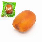 Kiibru Squishy Kiwi Fruit 8.5cm Soft Lizenzierte langsam aufsteigende Originalverpackung Geschenk Dekor Spielzeug
