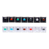 Feker 14PCS Pack Crystal Keycaps for Mechanical Gaming Keyboard