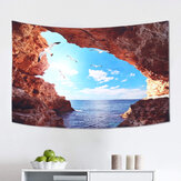 Sea Landscape Tapestry Art Wall Hanging Landscape Printing Blanket Living Room Decoration Wall Tapestry Supplies