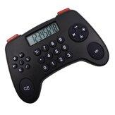 8 calculatrice à affichage numérique forme de manette de jeu outil de comptabilité d'entreprise financière fournitures de calculatrice de bureau pour enfants