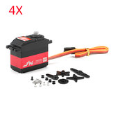 4X JX Servo PDI-HV5932MG 30KG 180 ° High Voltage Digital Servo