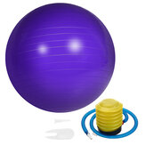 45cm Yoga Ball Fitness Sport Pilate Birthing Exercise Massage Gym Ball With Pump