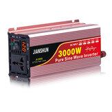 60HZ Inverter Intelligent Screen Solar Pure Sine Wave Power Inverter 3000W Peak DC 12V / 24V / 48V / 60V To AC 220V 240V Converter
