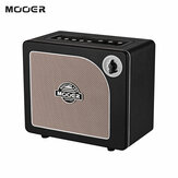 MOOER HORNET BLACK 15 Watt رقمي Modeling Combo Guitar Amplifier Speaker 9 Amp Models مدمج Modulation Delay Reverb Effects