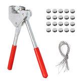 41 in 1 Sealing Pliers Kits Sicherheit rot Kunststoff beschichtet Griff Blei Pliers Werkzeug-Set