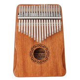 17 Key Kalimba Thum Finger Piano Beginner Practical Wood Muscial Instrument Set