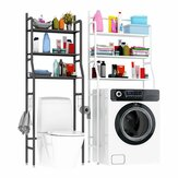 3 Layers Bathroom Rack Bathroom Kitchen Washing Machine Rack Space Saver Shelf Organizer Holder Home Storage