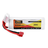 ZOP Power 11.1V 2200mAh 3S 20C Lipo Battery T Plug