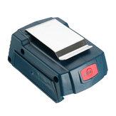 Conversor de adaptador de carregador de energia USB para Bosch 18V 3.0 / 4.0A Li-ion Bateria para carregamento de telefones móveis