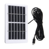 6V 1.2W Solar Power Panel USB Opladen Draagbaar voor LED Mosquito Killer Light