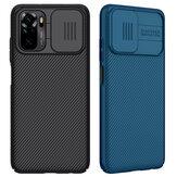 Nillkin for Xiaomi Redmi Note 10 / Redmi Note 10S Case Bumper with Lens Cover Shockproof Anti-Scratch TPU + PC Protective Case