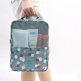 Waterproof Nylon Storage Organizer Shoes Clothes Socks Underwear Towels Holder Bag Travel Packing Pouch Case