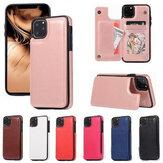 iPhone X/6 / 6S / 6S Plus / 6S Plus/7/7/8/7 Plus/8 Plus用の電話ウォレットカードスロットフォトフレーム耐震保護ケース付きの多機能の高級ビジネスPUレザー