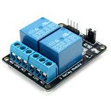 Módulo de Relé de 2 Vías con Protección Optocoupler