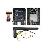 ESP32-CAM-MB-WiFi MICRO USB ESP32 szeregowy do WiFi ESP32 CAM płytka rozwojowa CH340G 5V Bluetooth + kamera OV2640 + antena 2.4G IPX