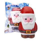Cooland Christmas Santa Claus Squishy 14.2×8.4×9.2CM Soft Slow Rising With Packaging Collection Gift Toy