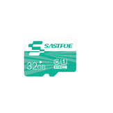SASTFOE Green Edition 32GB U1 Class 10 TF Micro Memory Card for Digital Camera MP3 TV Box Smartphone