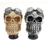 Universal Car Skull Head Transmission Gear Shift Knob Shifter Lever