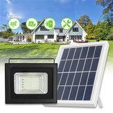 50 LED Painel Solar Luz de Inundação de Energia Poeira Ao Amanhecer Sensor Jardim Ao Ar Livre Lâmpada À Prova D 'Água