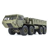 HG P801 P802 1/12 2.4G 8X8 M983 739 mm RC Car US Caminhão militar do exército sem carregador Bateria