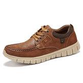 Menico Men Microfiber Leather Non Slip Soft Sole Casual Casual Boat Shoes