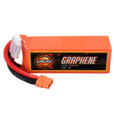 URUAV GRAPHENE 4S 14.8V 2200mAh 100C Lipo البطارية XT60 Plug for FPV RC Racing Drone