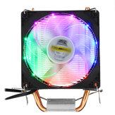 DC 12 V 3 Pino Colorful Backlight 90mm CPU Ventilador De Refrigeração Do Dissipador De Calor Do PC para Intel / AMD Para PC Computador Caso